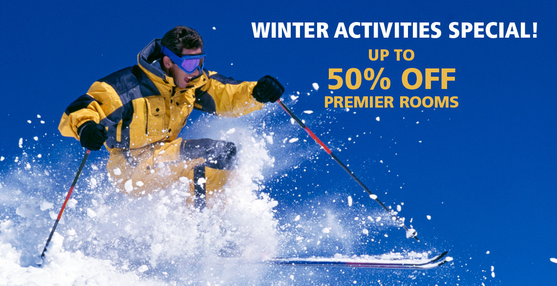winter activity special at P Inn