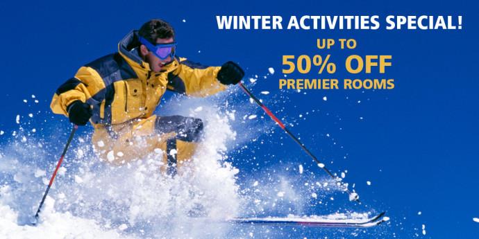 winter activity special at P Inn